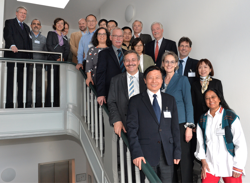 "Participants of the Symposium ""Molecular Biology of Aging"" in Berlin, Photo: Bettina Aussenhofer for Leopoldina"